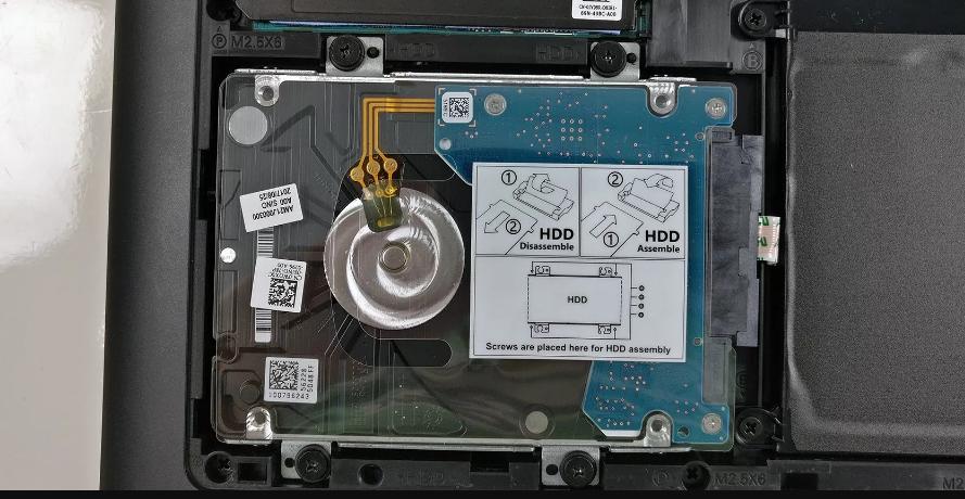 Рис. 6. Терабайтный жёсткий диск ноутбука.