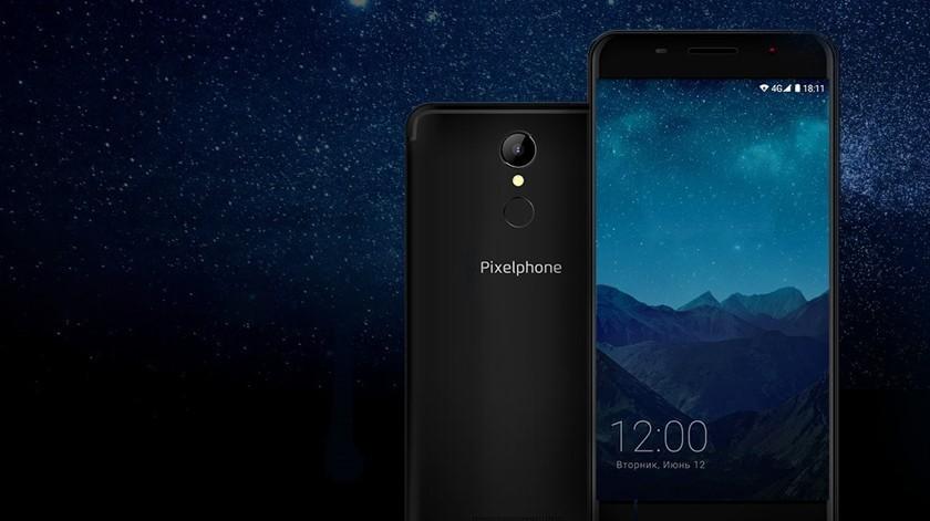 Рис. 6. Бюджетный смартфон Pixelphone S1 с хорошим звуком.