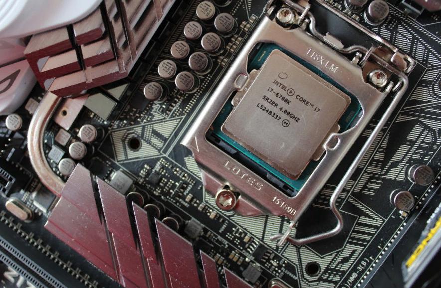 Рис. 7. Процессор i7-6700K.