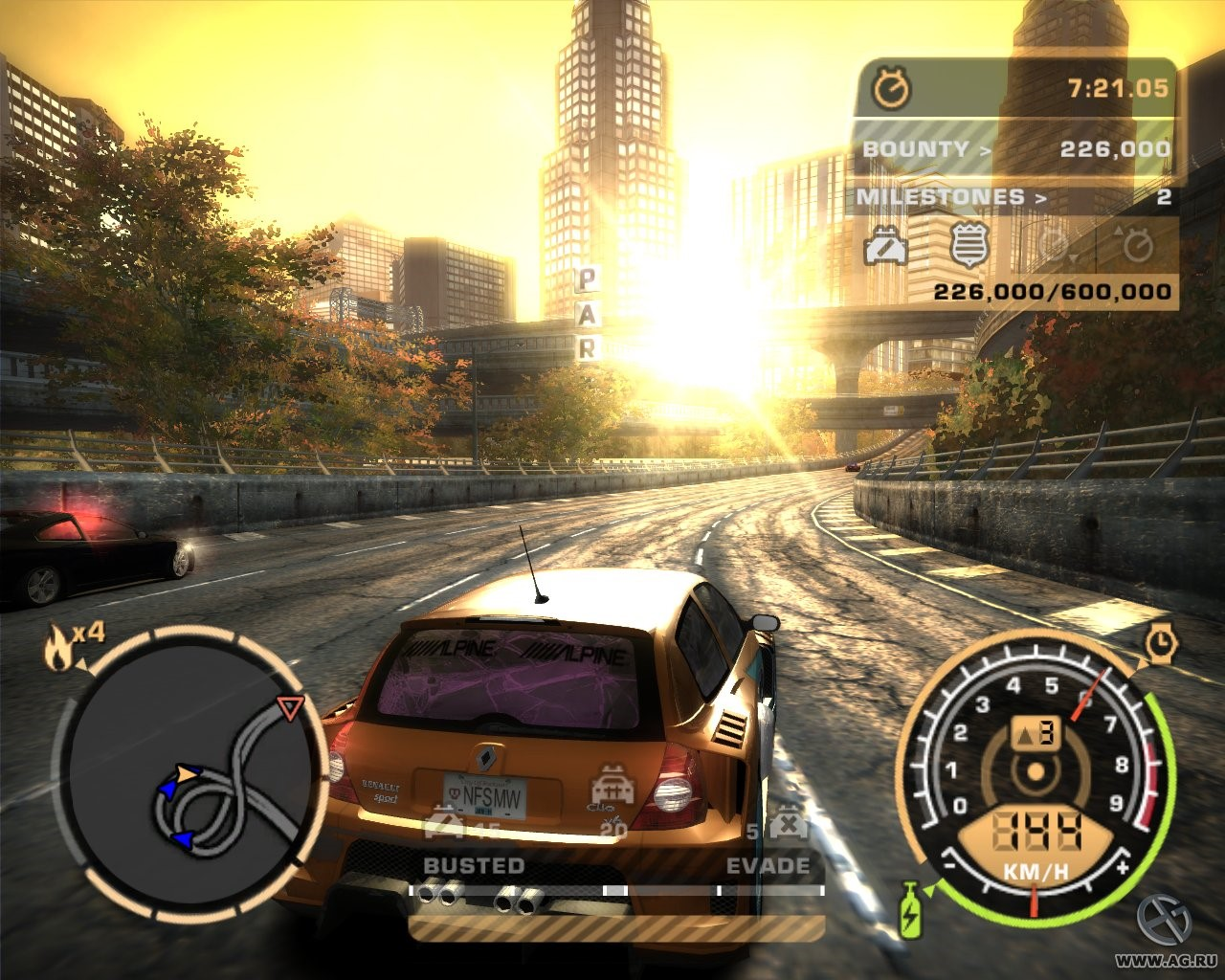 Рис. 9 - Need for Speed: Most Wanted