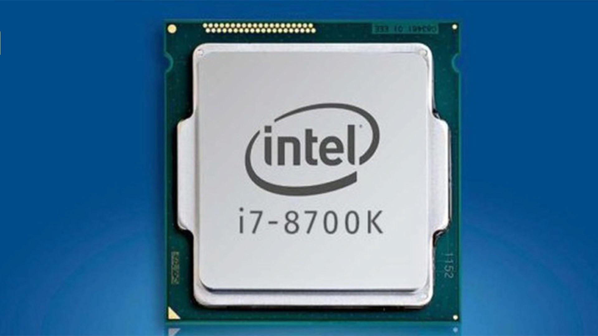 Рис. 9. Процессор i7-8700K.