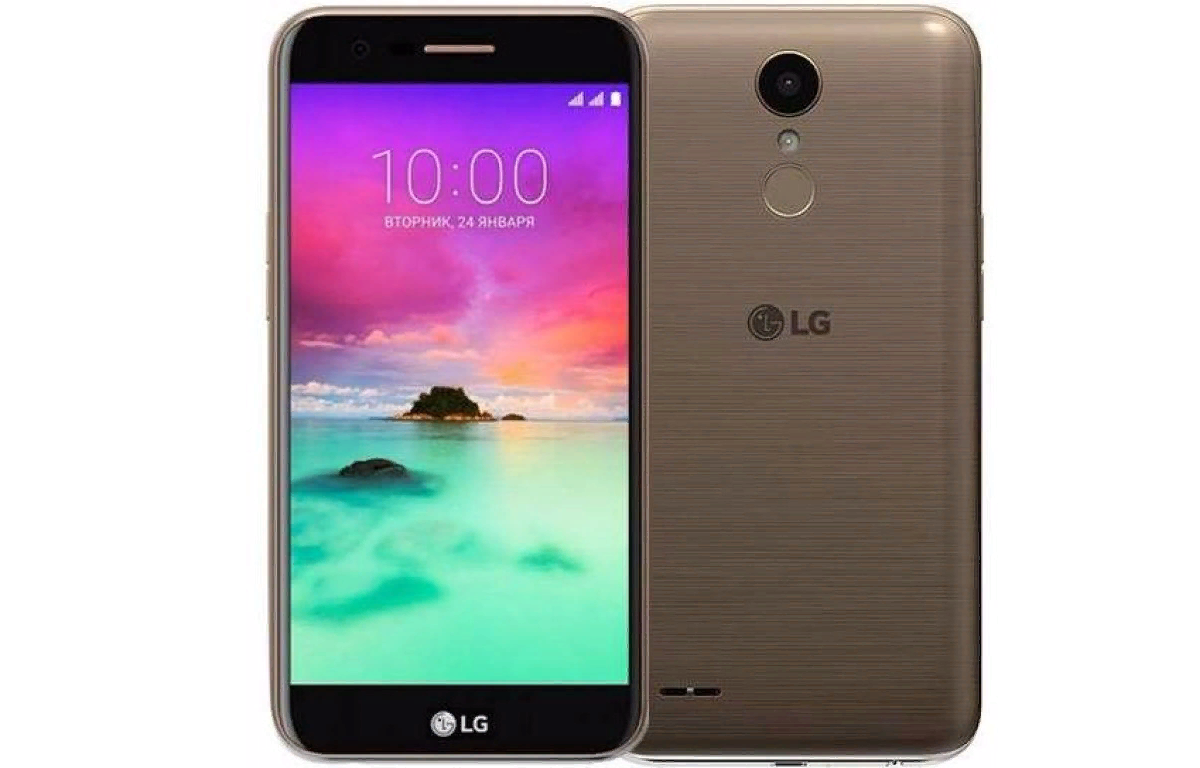 Рис. 10. LG K10 M250 – классическая модель с раздельным слотом для карт памяти и SIM-карт.