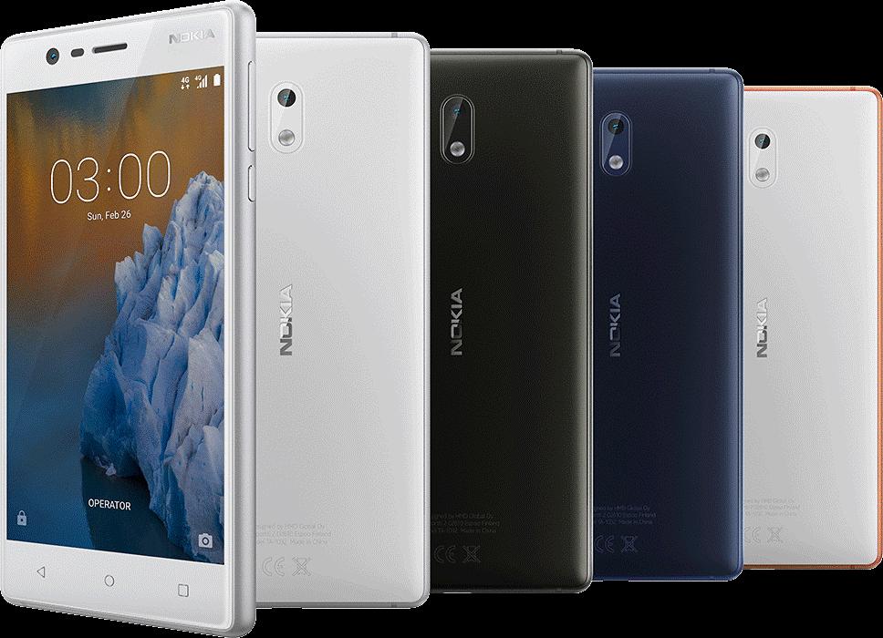 Рис. 11. Nokia 3 – «бюджетник» известного бренда.