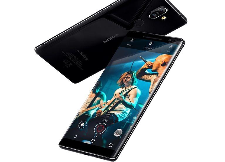 Рис.2 Внешний вид Nokia 8 Sirocco.
