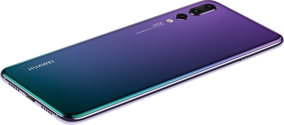 Рис. 2. Смартфон Huawei P20 Pro.