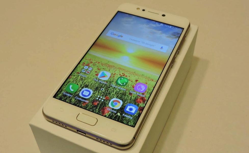 Рис. 5. Удобный и функциональный смартфон ASUS ZenFone 4 Max ZC520KL.