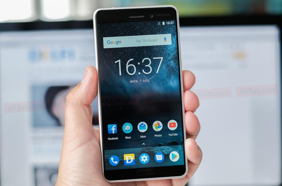 Рис. 5. Смартфон Nokia 6.