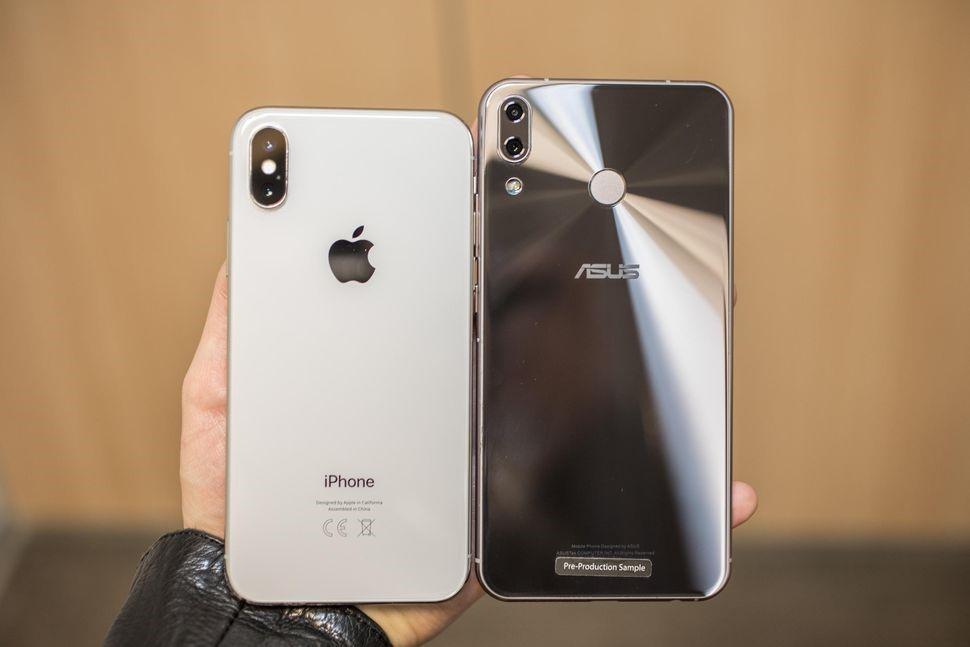 Рис. 5 сравнение смартфонов