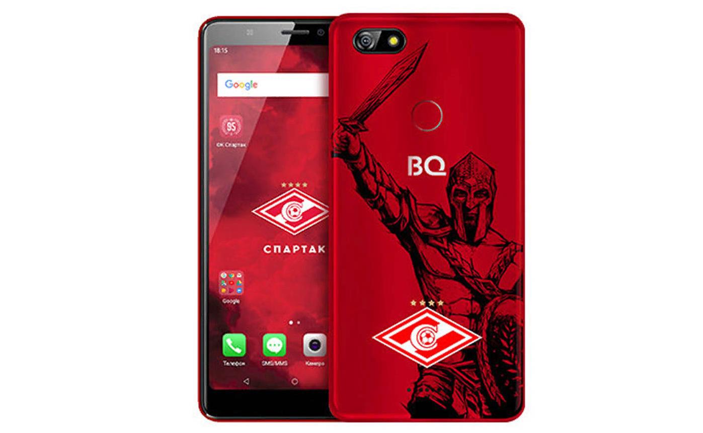 Рис. 7. Лимитированная версия BQ Advance – Spartak Edition.