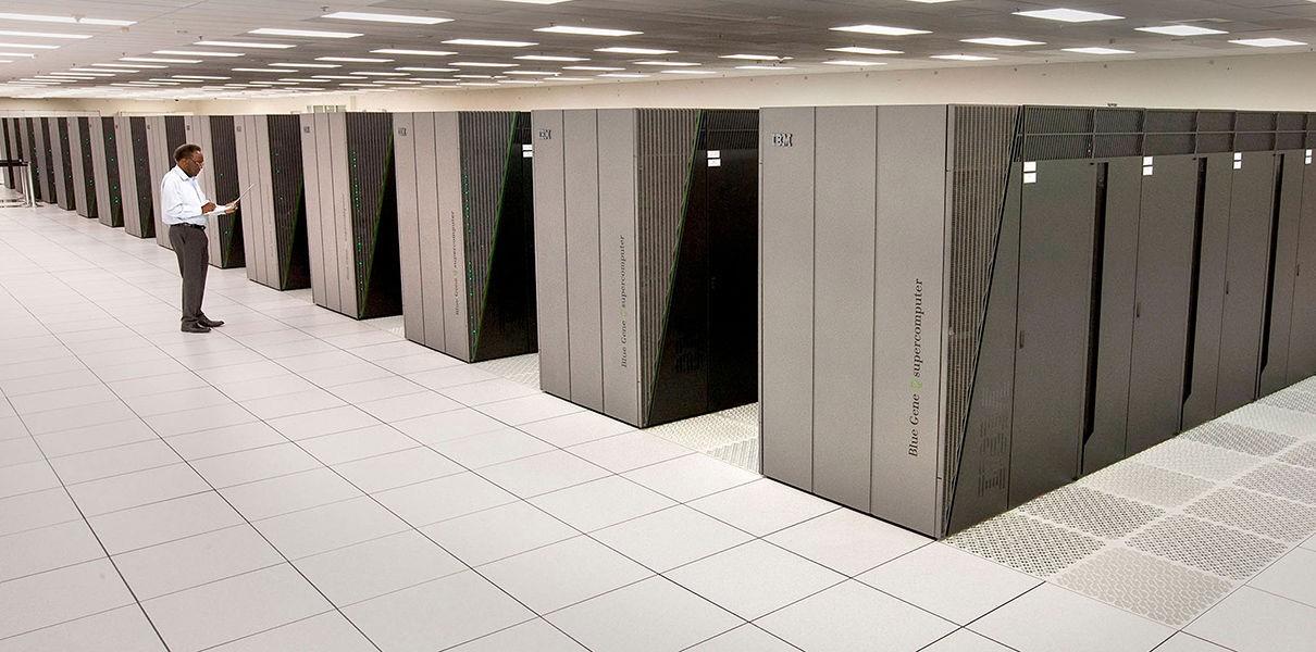Рис. 7. Зал проекта американского суперкомпьютера.