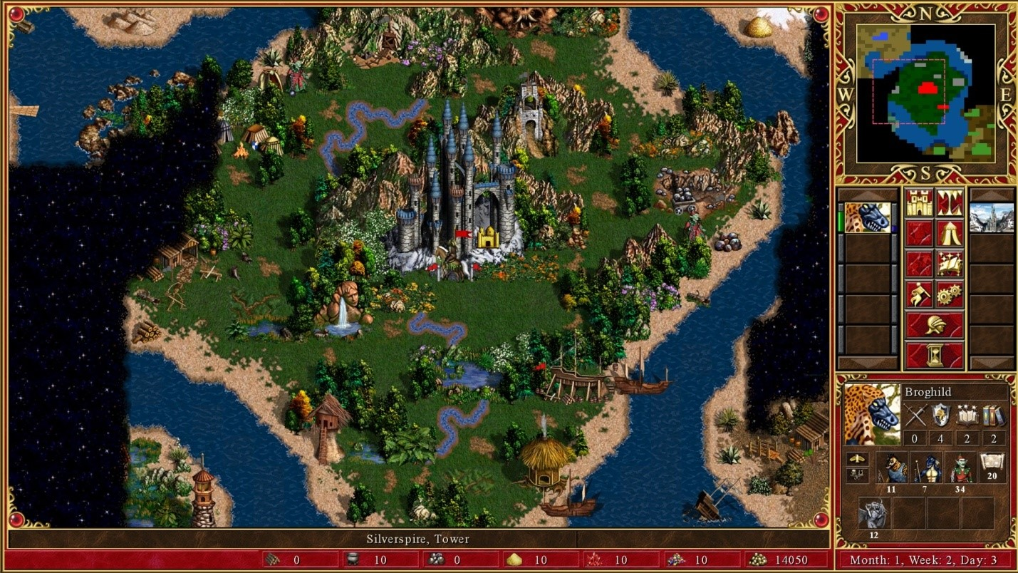Рис.1. Heroes of Might & Magic III