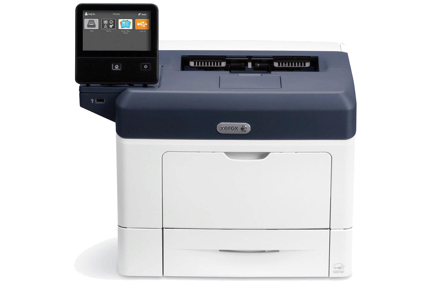 Рис. 2. Xerox VersaLink B400DN – быстрый принтер с большим цветным дисплеем.