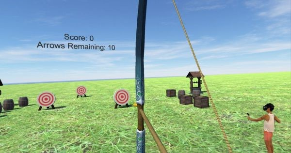 Рис. 21. 3D реальность для лучников