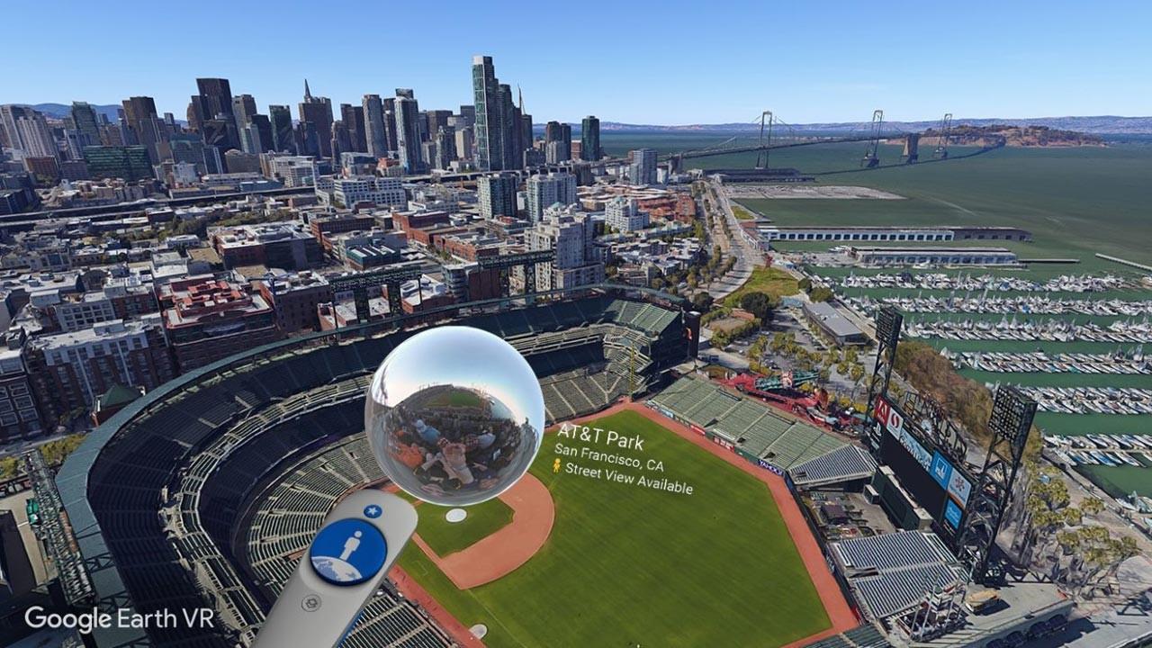Рис. 23. Исследование реальных объектов через Google Earth