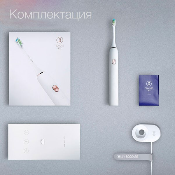 Обзор зубной щетки Xiaomi Soocare X3