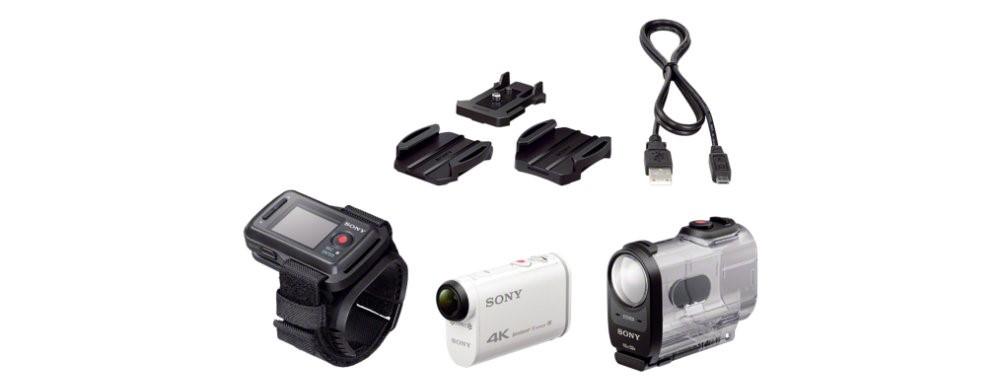 Рис. 6 Полный комплект устройства FDR-X300R
