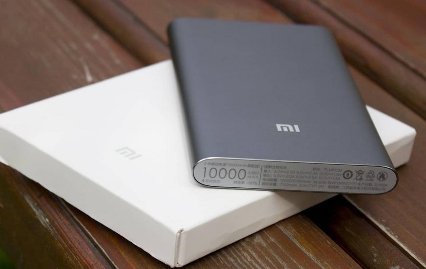 Рис. 6. Mi Power Bank 2 10000 – повербанк с лучшим соотношением цены и функциональности.