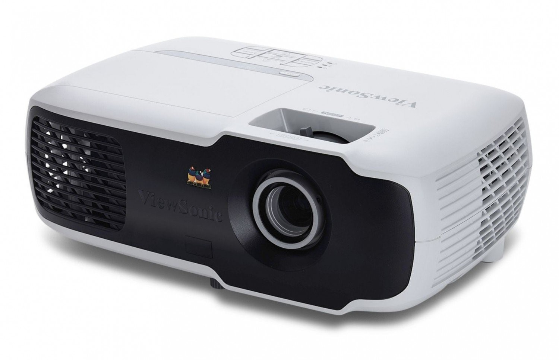 Рис. 9. Удобный портативный проектор ViewSonic PX702HD.