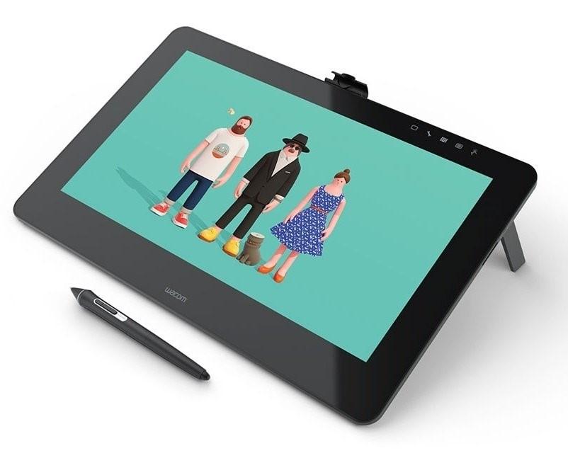 Рис. 5. Модель Wacom Cintiq Pro Touch DTH-1320-RU – компактная и чувствительная.