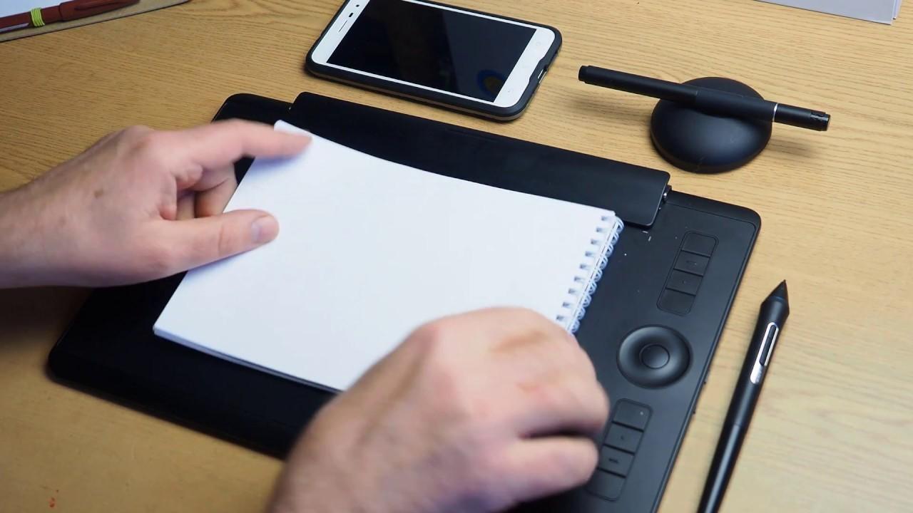 Рис. 7. Удобный и сравнительно недорогой Intuos Pro Paper Large PTH-860p-N.