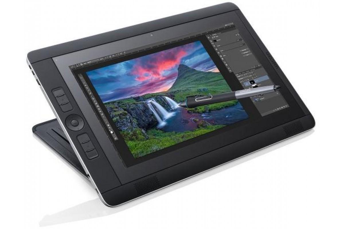 Рис. 9. Графический планшет Wacom Cintiq Companion DTH-W1310P на Windows 8.