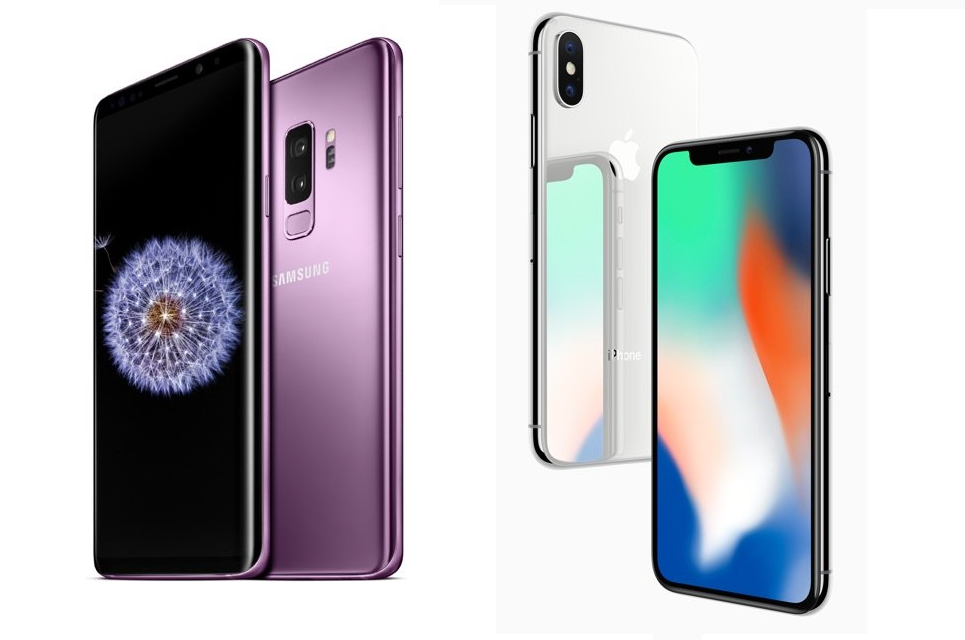 Рис 1. Два сравниваемых смартфона.