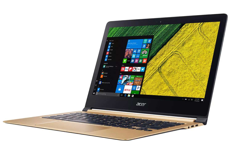 Рис. 13. Ультрабук Acer Swift 7 – прочный, бесшумный.