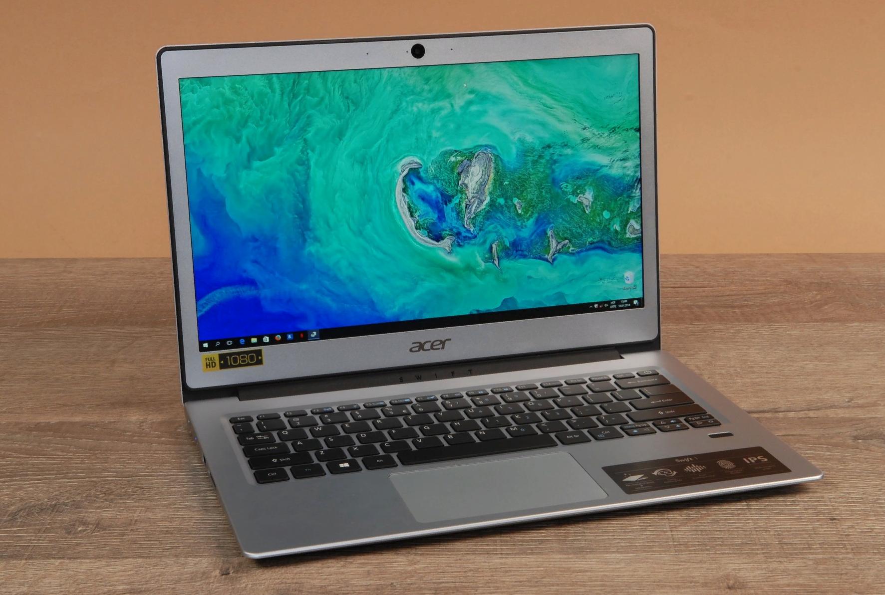 Рис. 14. Модель Swift 1 – бюджетный ультрабук от Acer.
