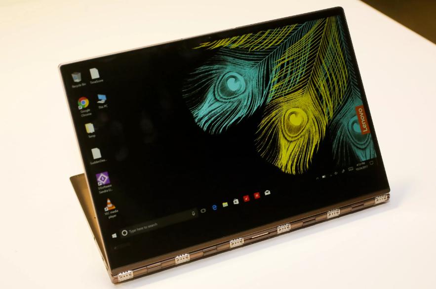 Рис. 3. Lenovo Yoga 920 – лучший ультрабук-трансформер.