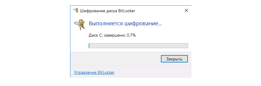Рис. 7. Ход процесса шифрования.