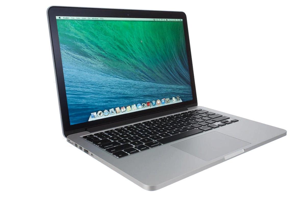 Рис. 8. Высокопроизводительный лэптоп Apple с мощным аккумулятором.