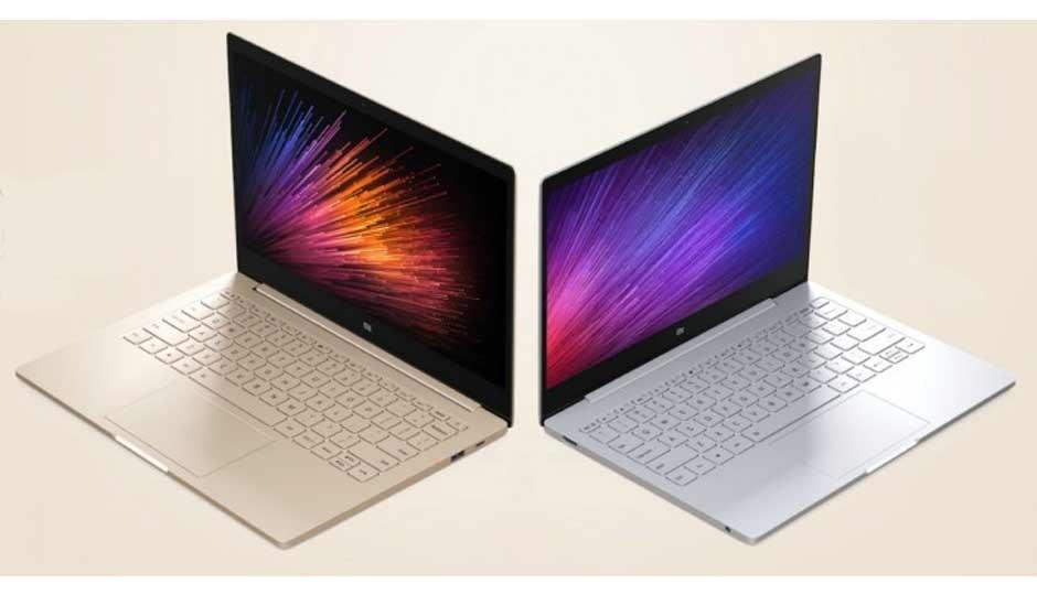 Рис. 9. Разные цветовые решения для Mi Notebook Air.