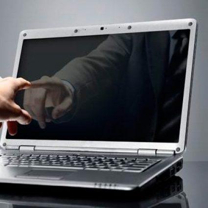 Черный экран при включении ноутбука