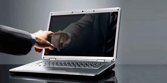Рис. 1 – Не загорелся экран после включения портативного компьютера