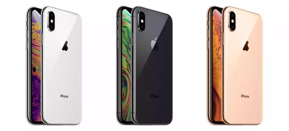 Рис. 1. Внешний вид нового телефона с различными цветовыми решениями.
