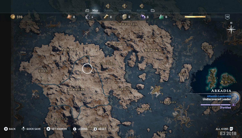 Рис. 1 – Карта игры