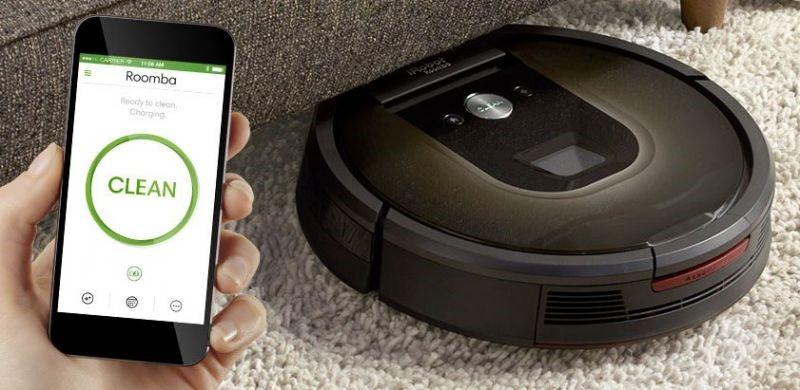 Рис. 2. Модель IRobot Roomba 980 с управлением со смартфона.