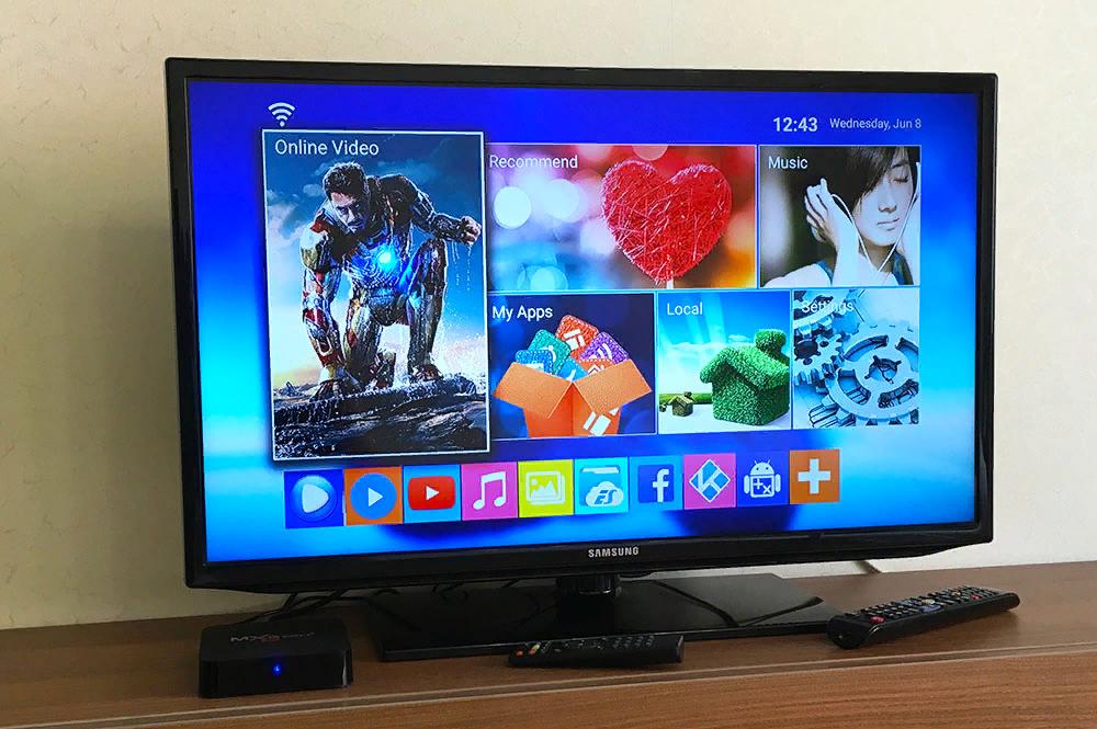 Рис. 4. Приставка для трансляции ТВ-каналов в виде мини-ПК на Андроид.