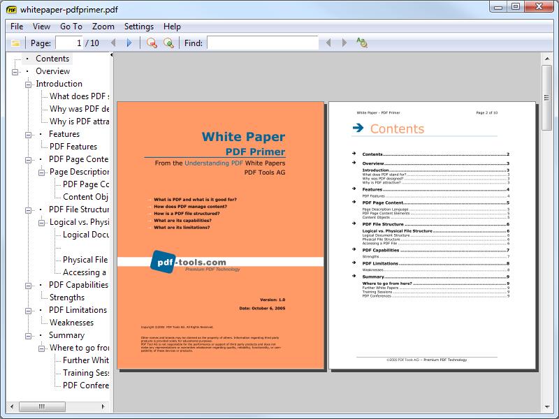 Рис.6. Чтение документа в приложении Sumatra PDF