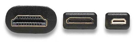 Рис. №1. HDMI (Type A, С и D)