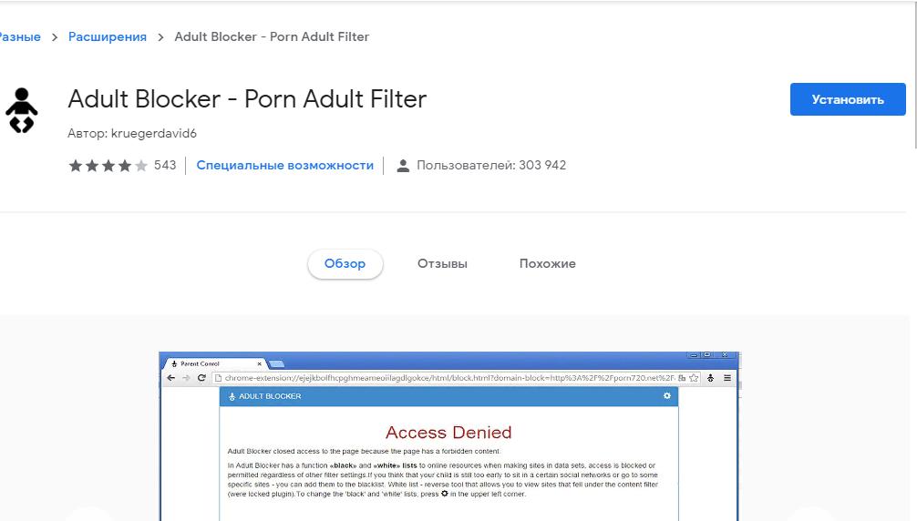 Рис. 10. Дополнение для Яндекс-браузера.