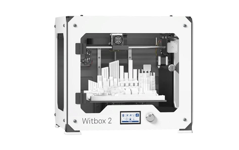 Рис. 2. BQ WitBox 2 – модель с большой рабочей камерой и возможностью автономной работы.