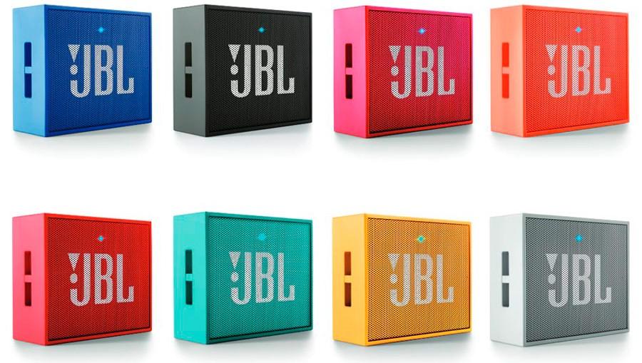 Рис.4. Варианты расцветок JBL GO