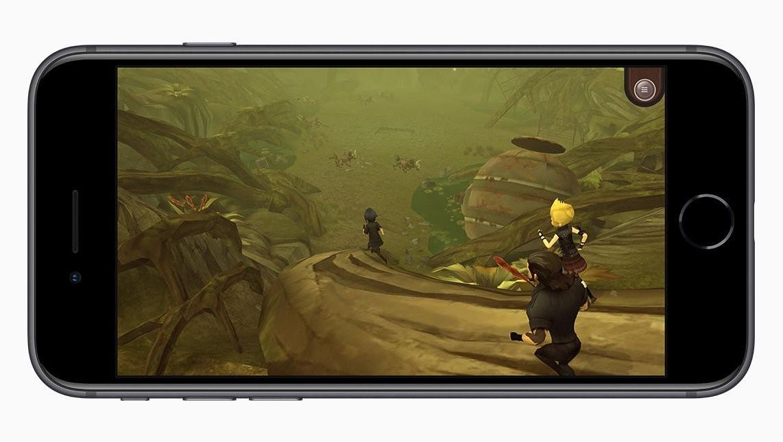 Рис. 4. В современных играх оба айфона нового поколения показывают себя одинаково.