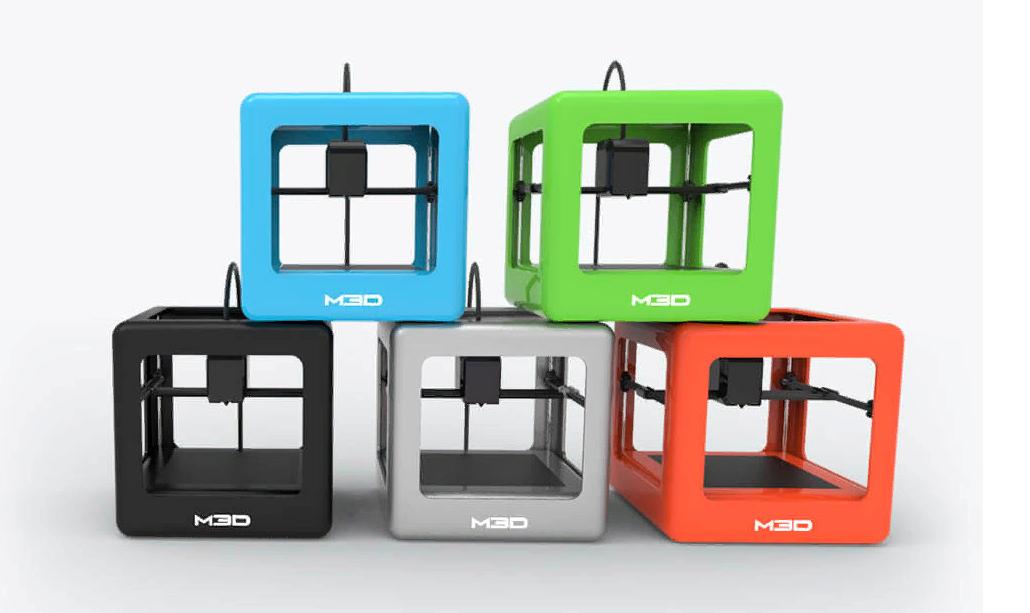 Рис. 9. Компактный и доступный по цене принтер M3D Micro 3D Printer.