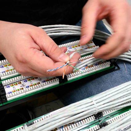 Как обжать интернет-кабель