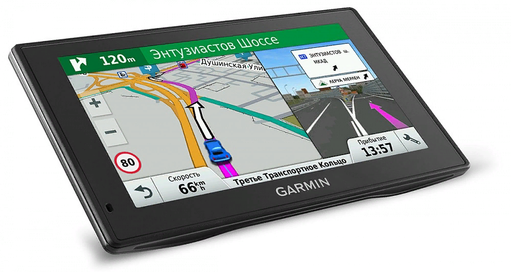 Рис. 1. Навигатор Garmin Drive 60 RUS LMT с лучшей функциональностью.