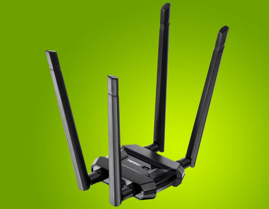 Рис. 1. Trendnet TEW-809UB – полноразмерный Wi-Fi адаптер для ПК.