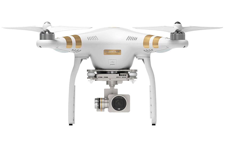 Рис. 1. DJI Phantom 3 Professional – настоящая мечта любителя дронов.