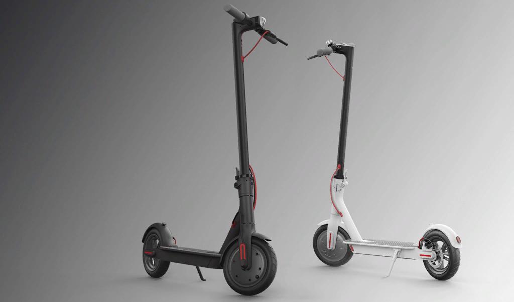 Рис. 10. Модель Mijia Scooter от «Сяоми» – покупка, доступная практически каждому.